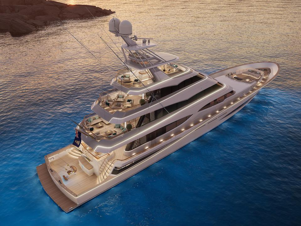 Vripack Yacht Design and Royal Huisman Team Up To Build A 171-Foot-Long Sportfish Superyacht On Steroids
