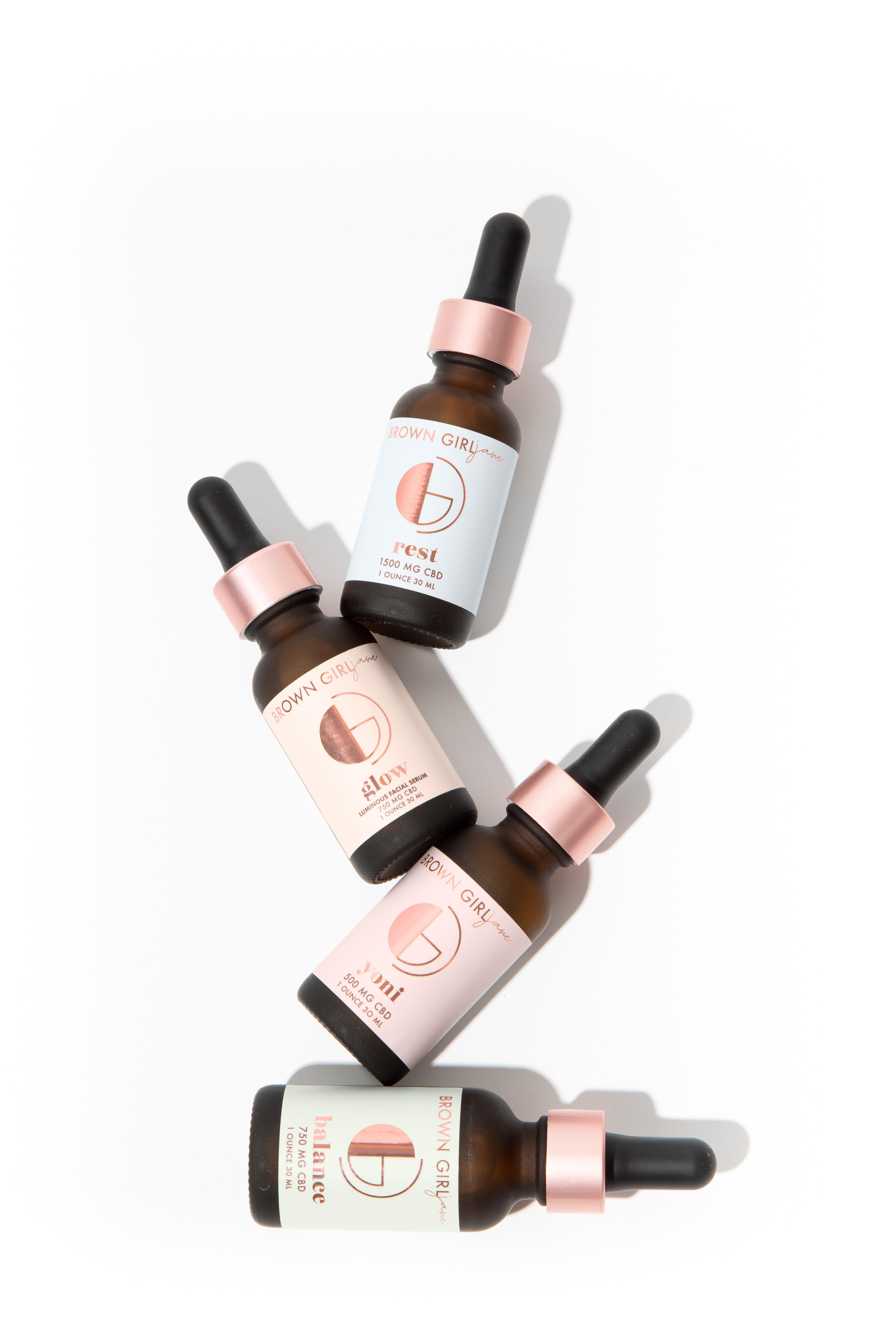 Brown Girl Jane's products include oils for both internal and external use.