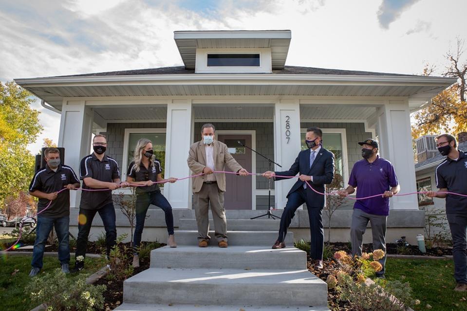 Net Zero Home Opening