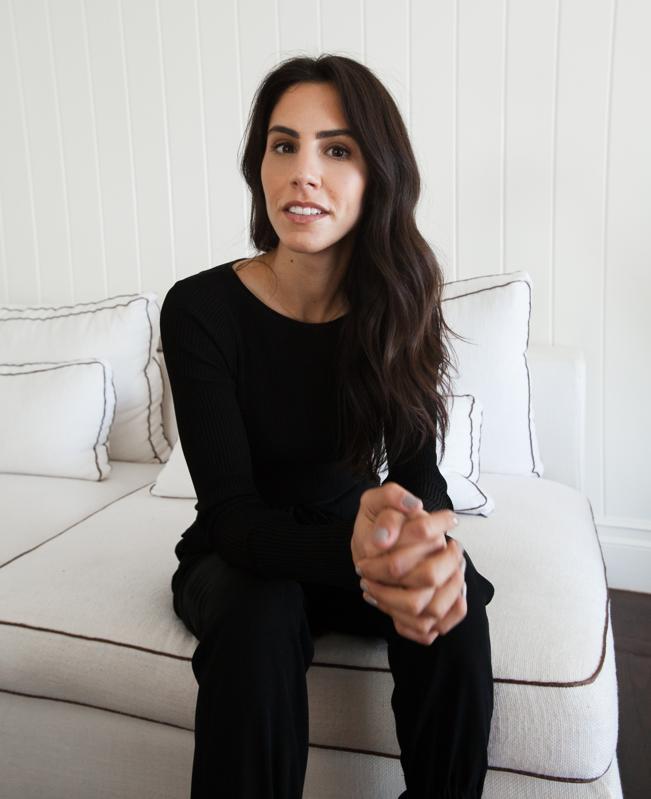 Kate Miller sitting
