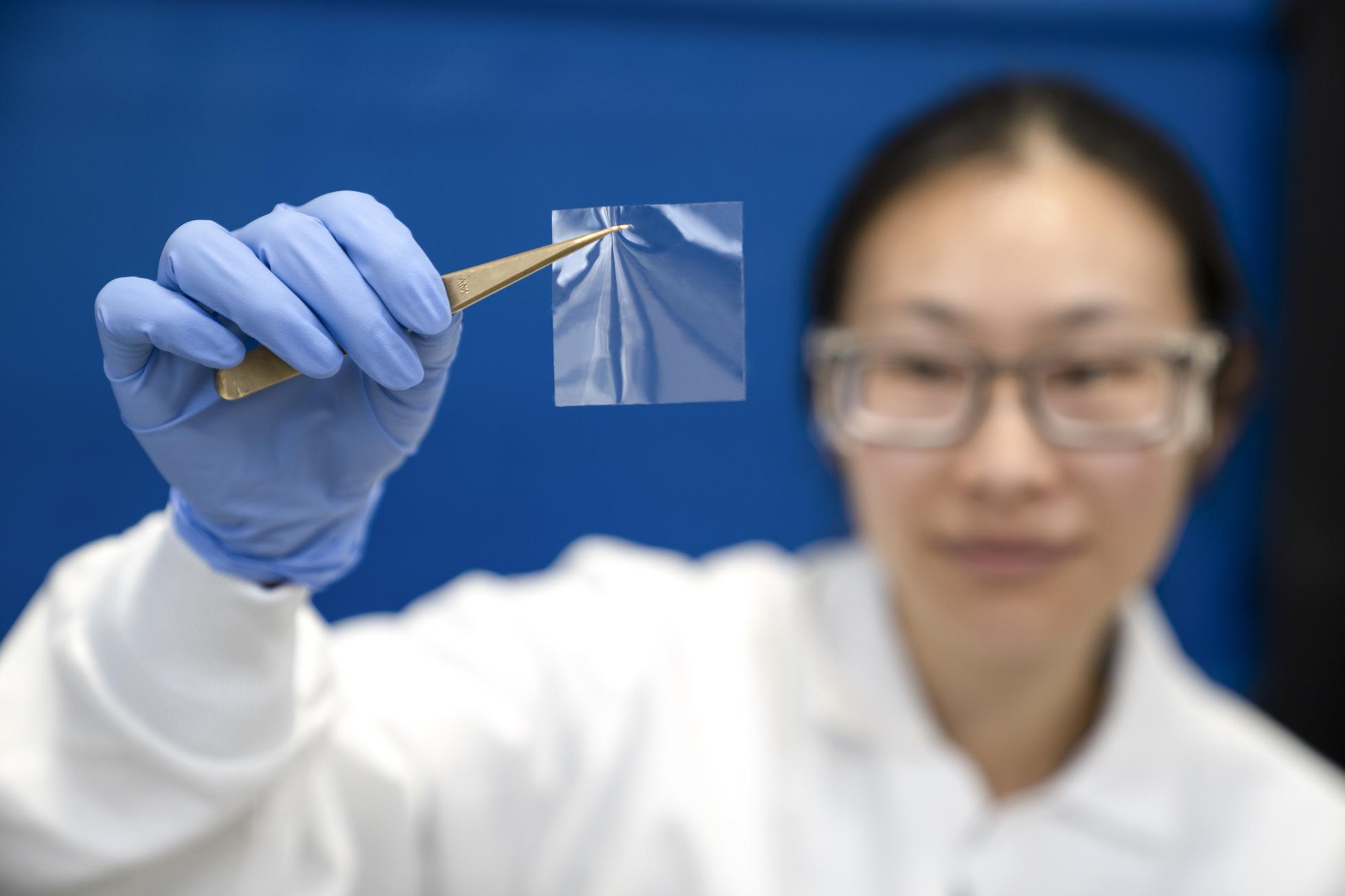 Zymergen's Hyaline optical film is made with biology not petrochemicals.