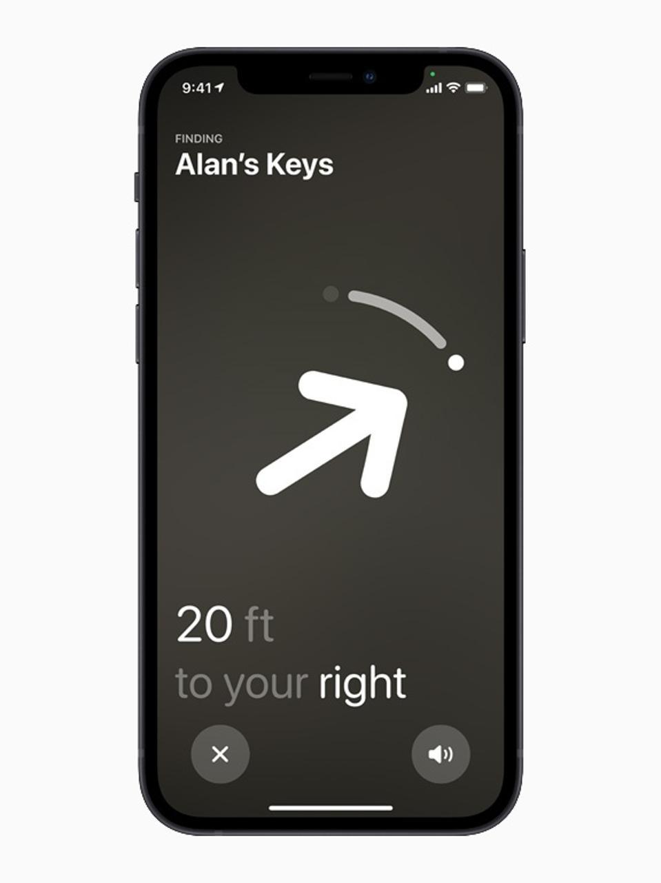 Le nouvel outil de suivi des articles et de localisation d'Apple AirTag.