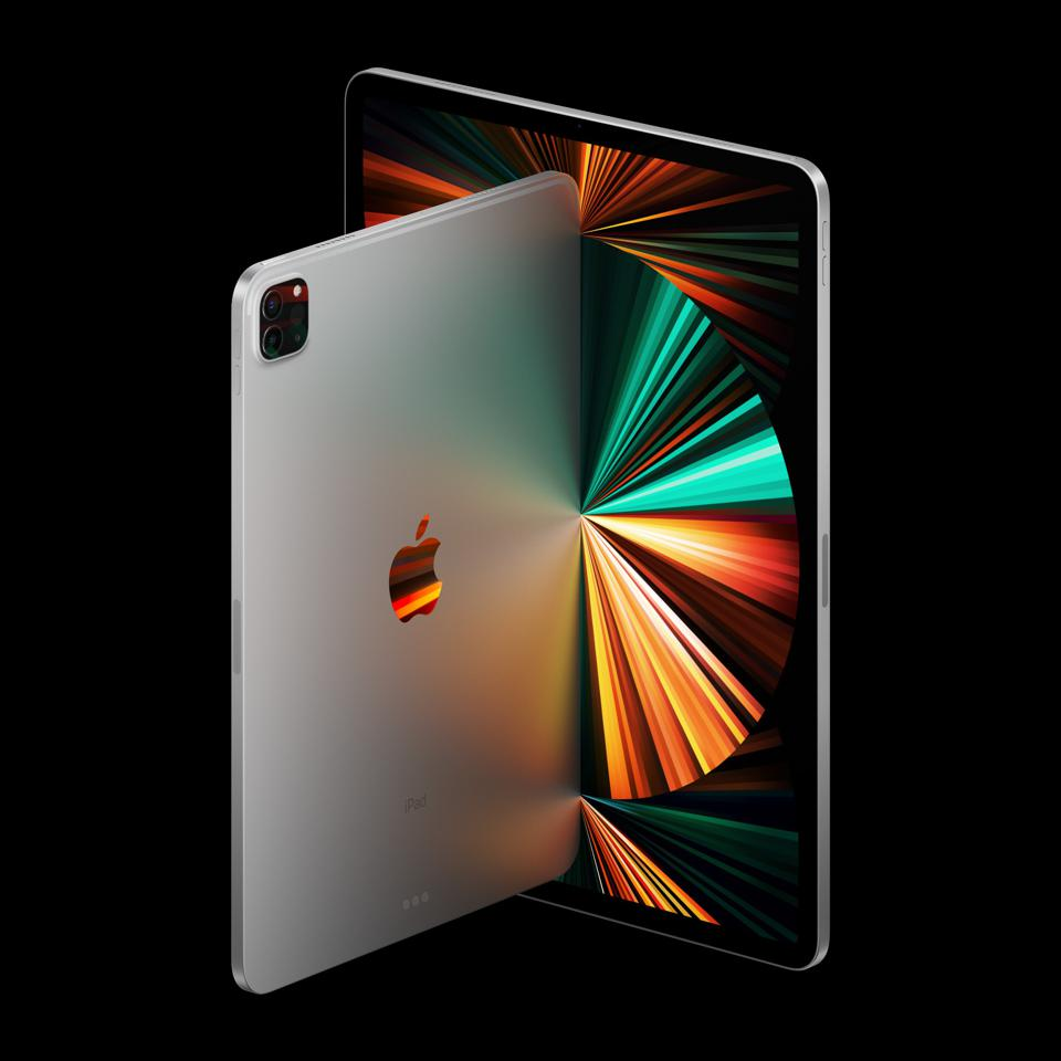 The new iPad Pro, including 12.9in model with miniLEDs in the display.