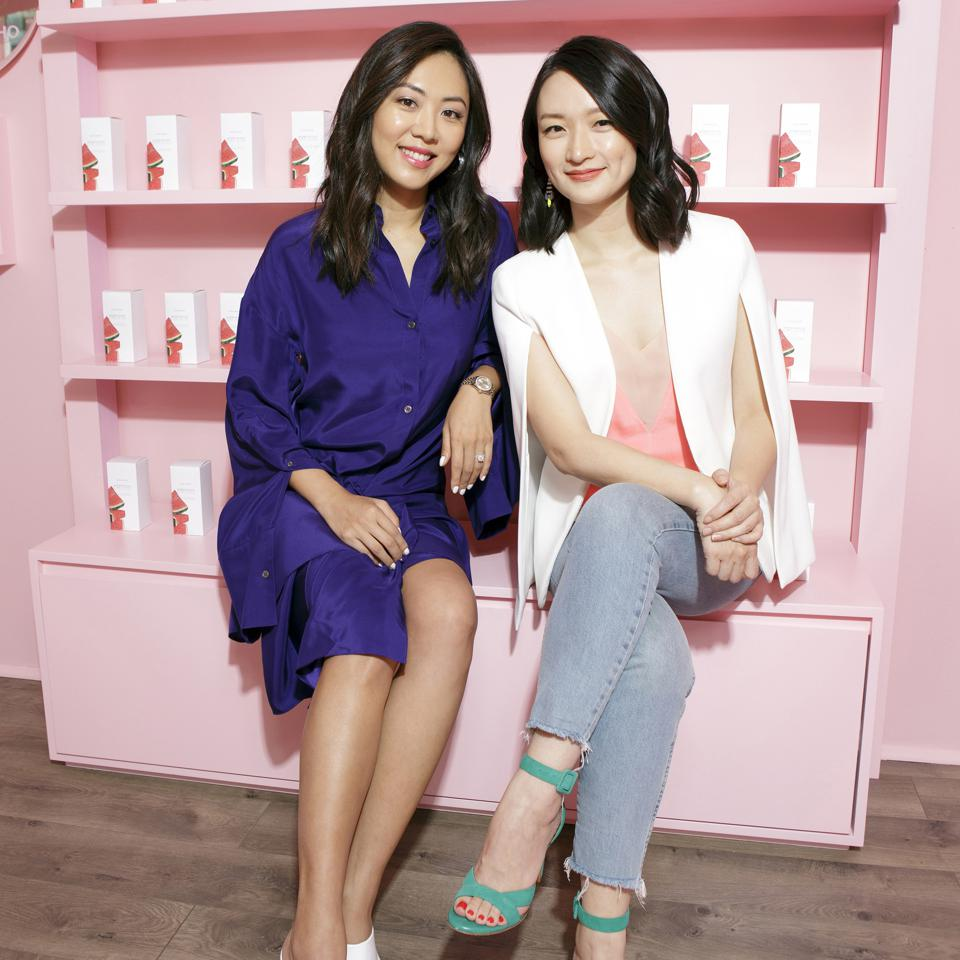 Co-founders of Glow Recipe Sarah Lee and Christine Chang