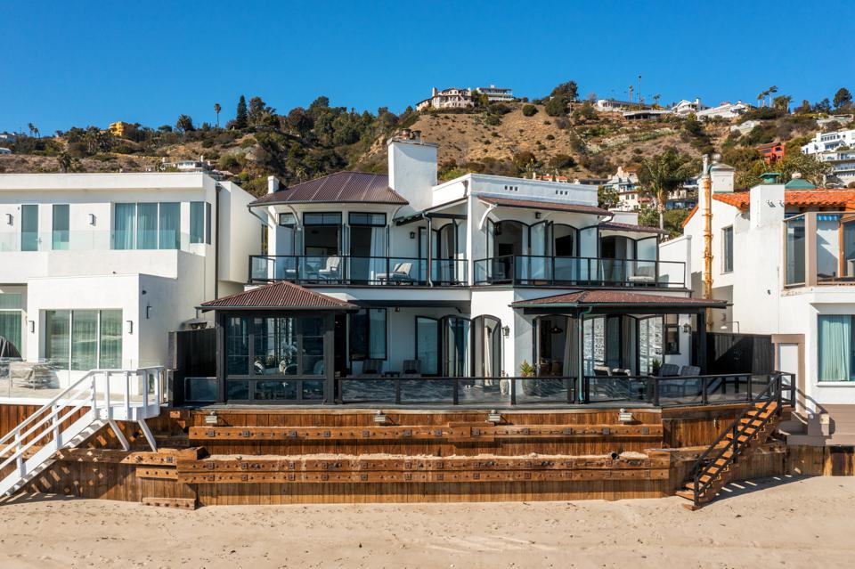 fashion nova richard saghian malibu beach house david spade la costa beach ted sarandos