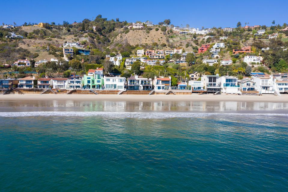 la costa beach coastline malibu luxury homes sarandos fashion nova