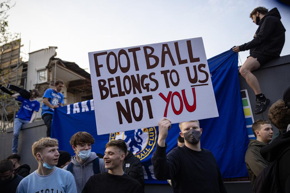Fans Respond To News Of Football Super League