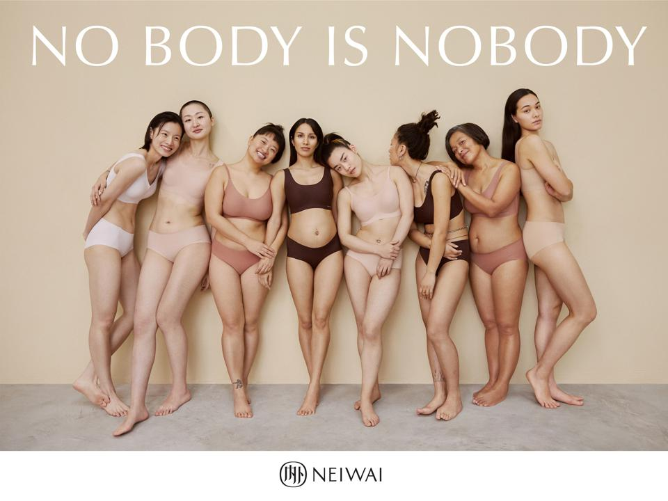 An image from NEIWAI's No Body is Nobody campaign.