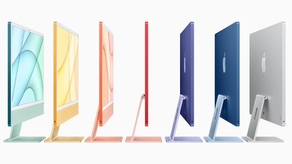 Apple's 2021 iMac range