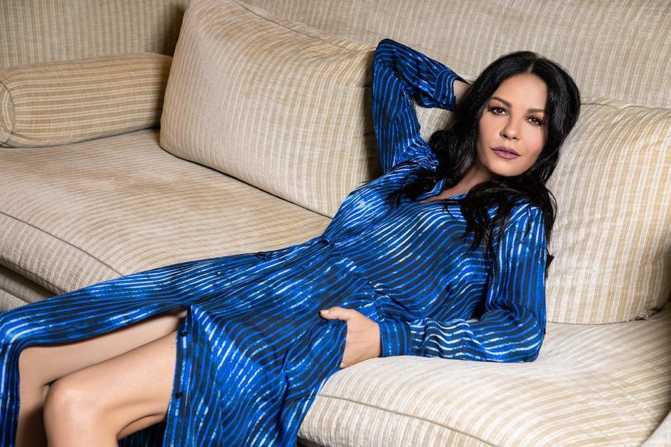 Casa Zeta-Jones Bianca Belted Shirt Dress