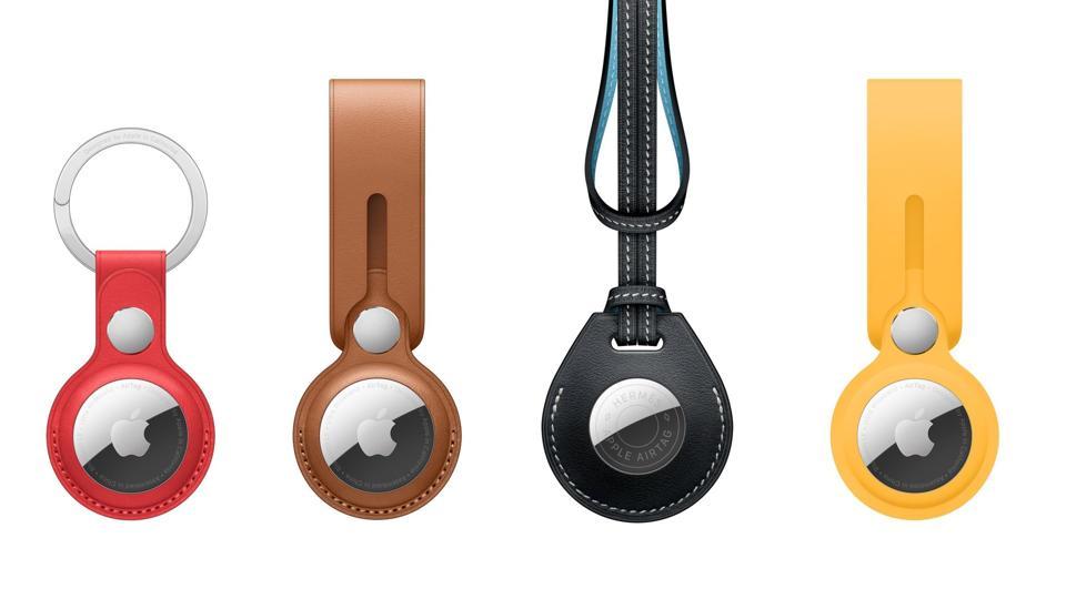 AirTag Leather Key Chain, Leather Loop, Hermès Bag Charm, Loop