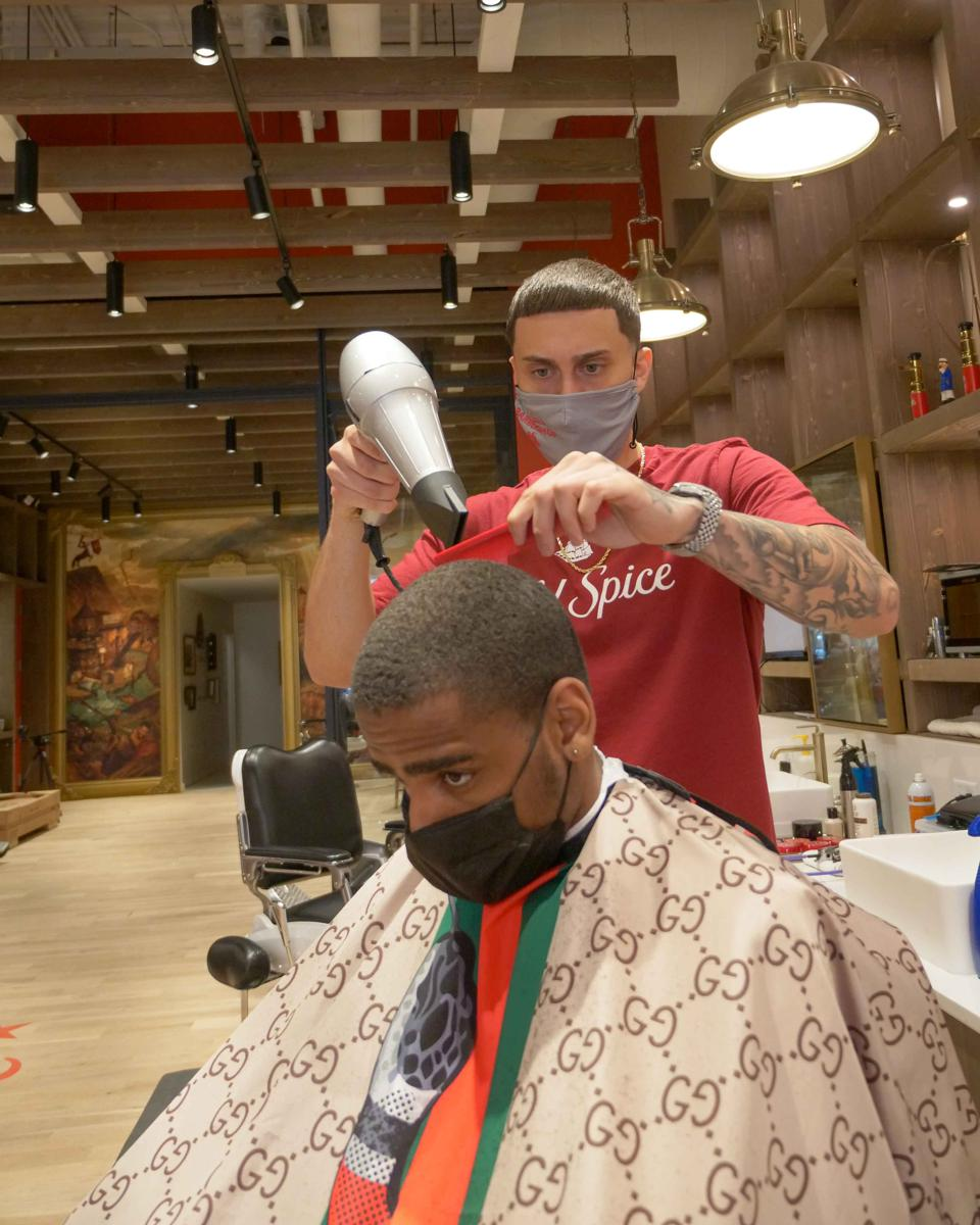 Matt Johnston: Celebrity Barber and Old Spice Barbershop Resident