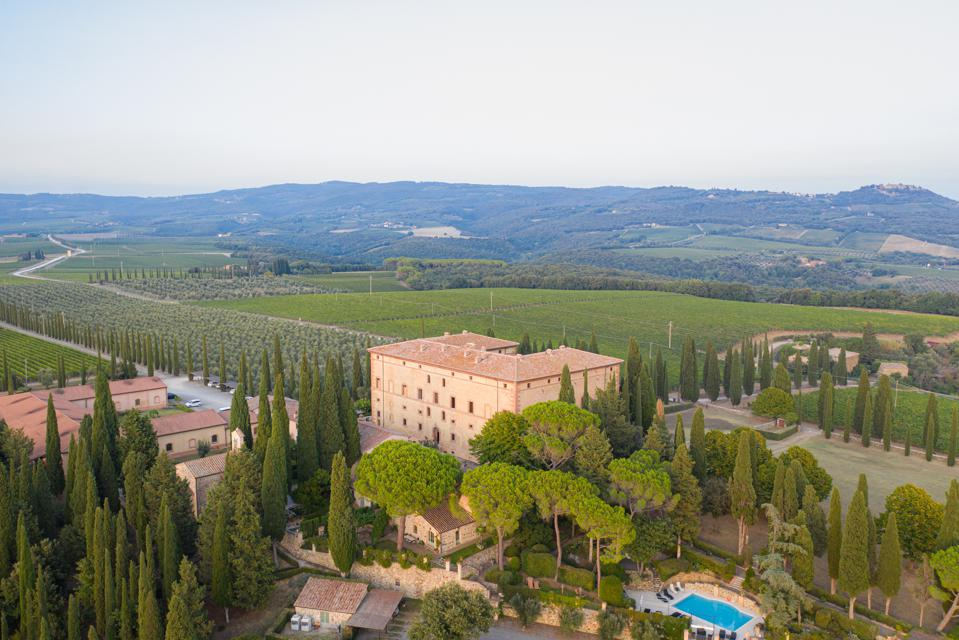 Argiano Winery and the Estate