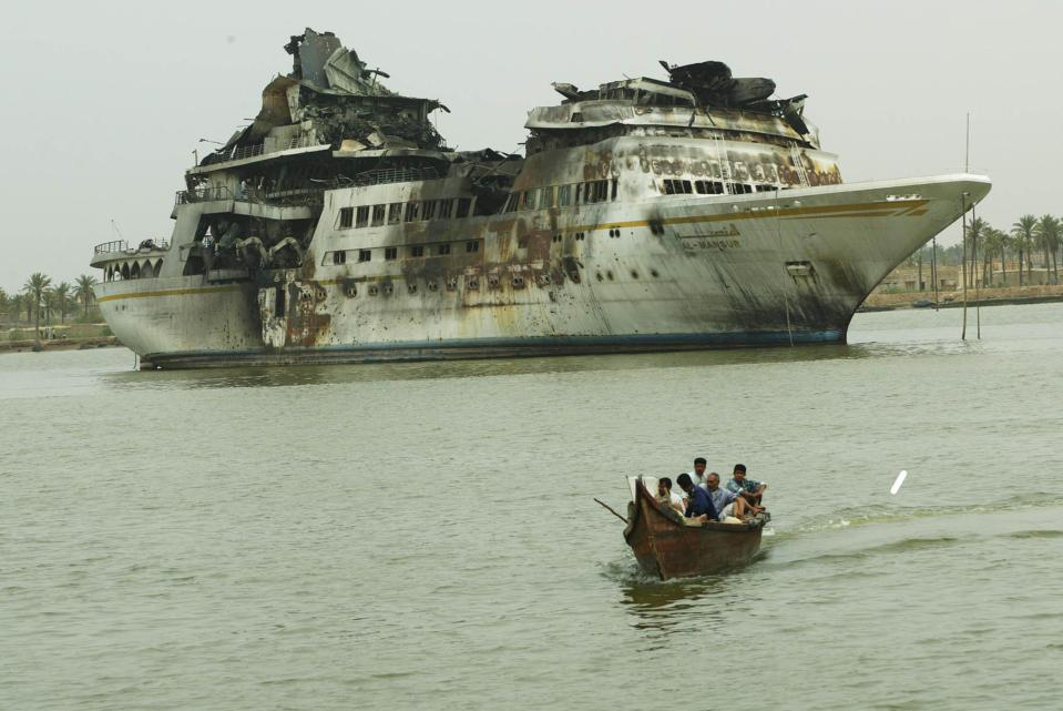 Saddam Hussein's yacht was significant enough to be targeted in Operation Iraqi Freedom.