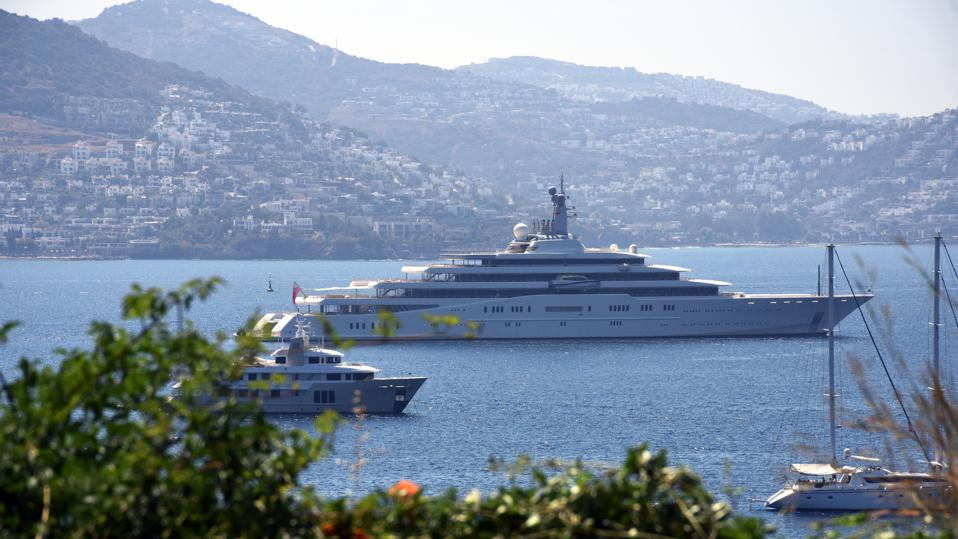 Do flamboyant Russian Oligarch-owned yachts advance Russian National Interests?