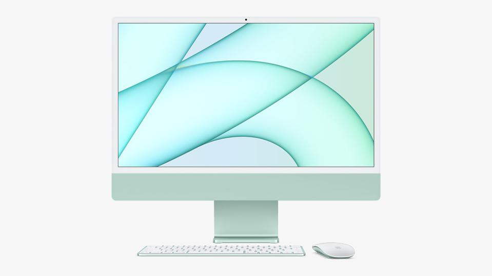 Apple's 2021 iMac powered by the M1 Apple Silicon chip