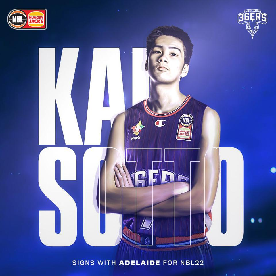 Kai Sotto has signed with the Australian National Basketball League.