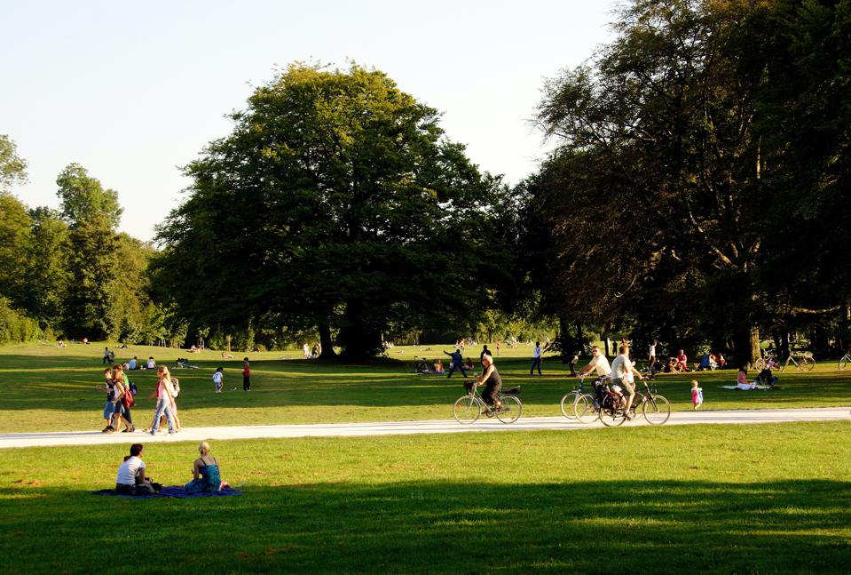 bikes in central park