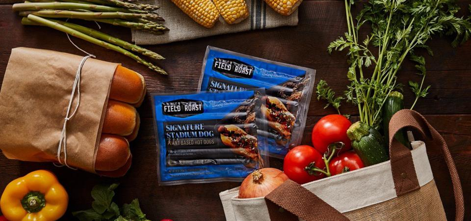 Greenleaf Foods will debut its plant-based Field Roast Signature Stadium Hot Dogs at Whole Foods.