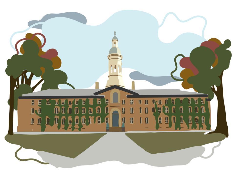 Drawing of Princeton University.