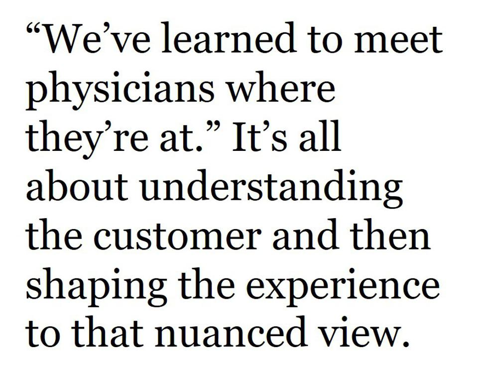 Once the customer insights are understood, the customer experience can be designed in nuanced ways.