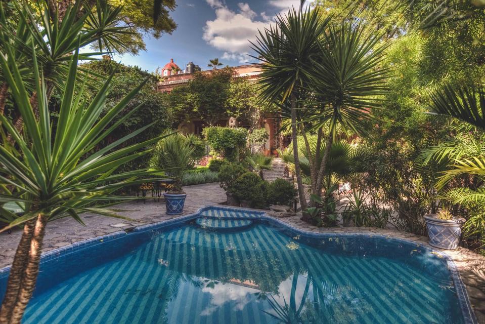 swimming pool luxury house Diez de Sollano y Dávalos 71, Centro. San Miguel de Allende