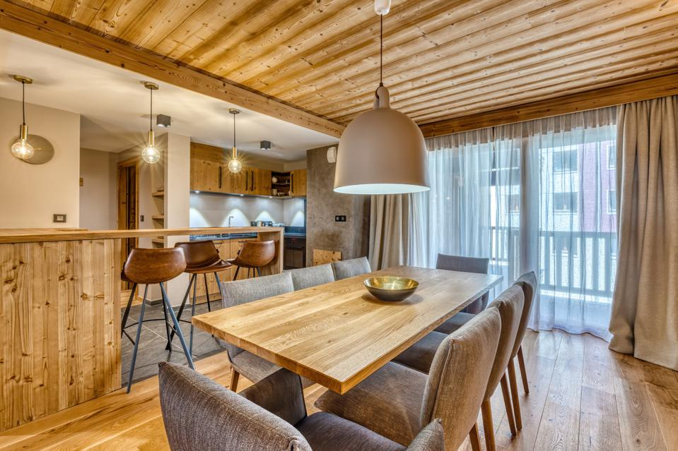 furnished apartment luxury home in  Val d'Isère, France