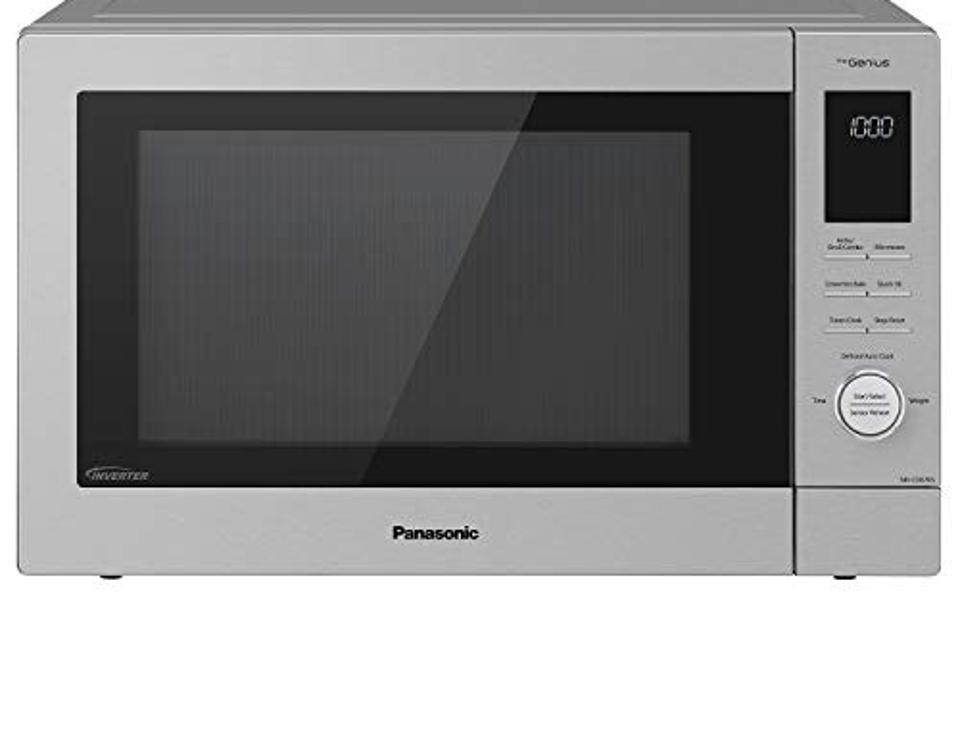 Best Mother's Day Gifts For Daughters: Panasonic NN-CD87KS Home Chef 4-in-1 Microwave Oven with Air Fryer, Convection Bake, FlashXpress Broiler, Inverter, 1000 Watt, Stainless Steel, 1.2 Cu.Ft, cft