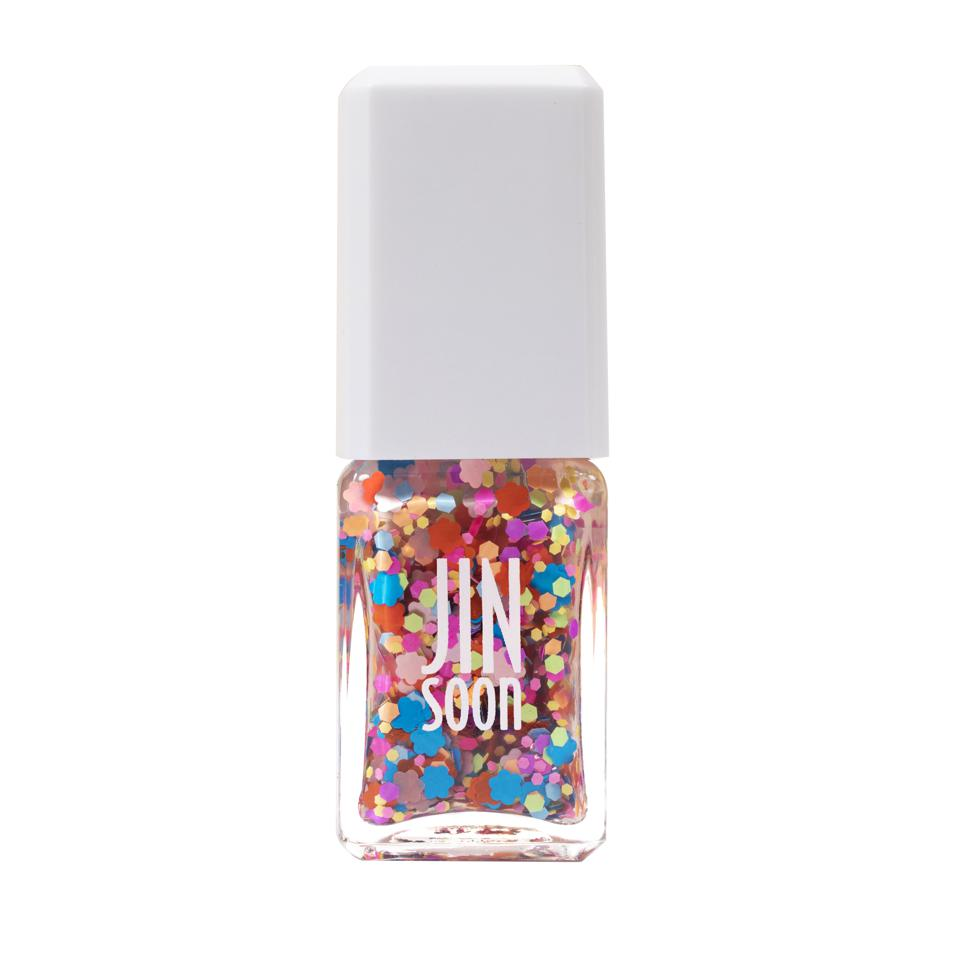 A bottle of JINSoon nail polish in daisy shade.