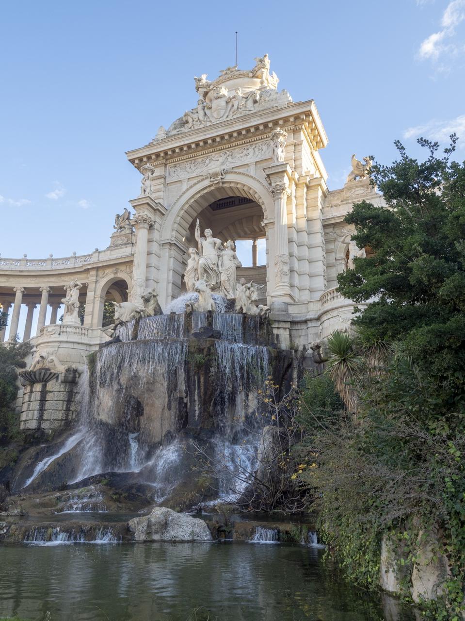 Palais Longchamp, Marseille, France