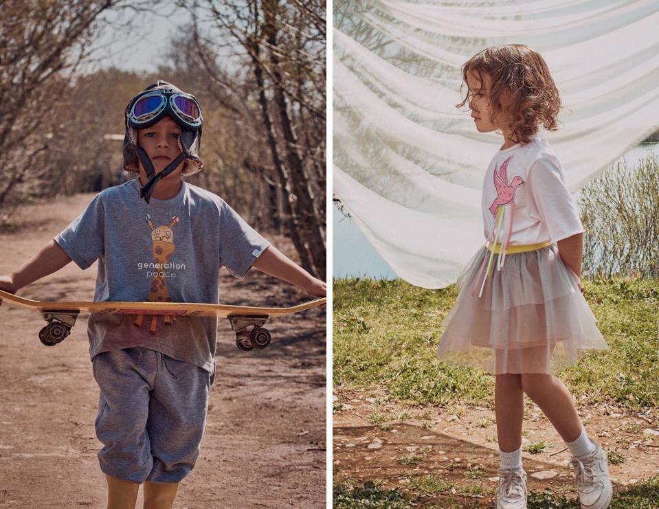 Generation Peace. Nour Arida. children's fashion.