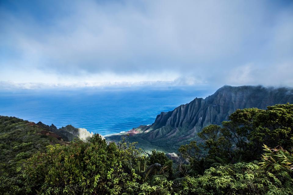Na Pali Coast State Park, Kauai, Kalalau Overlook