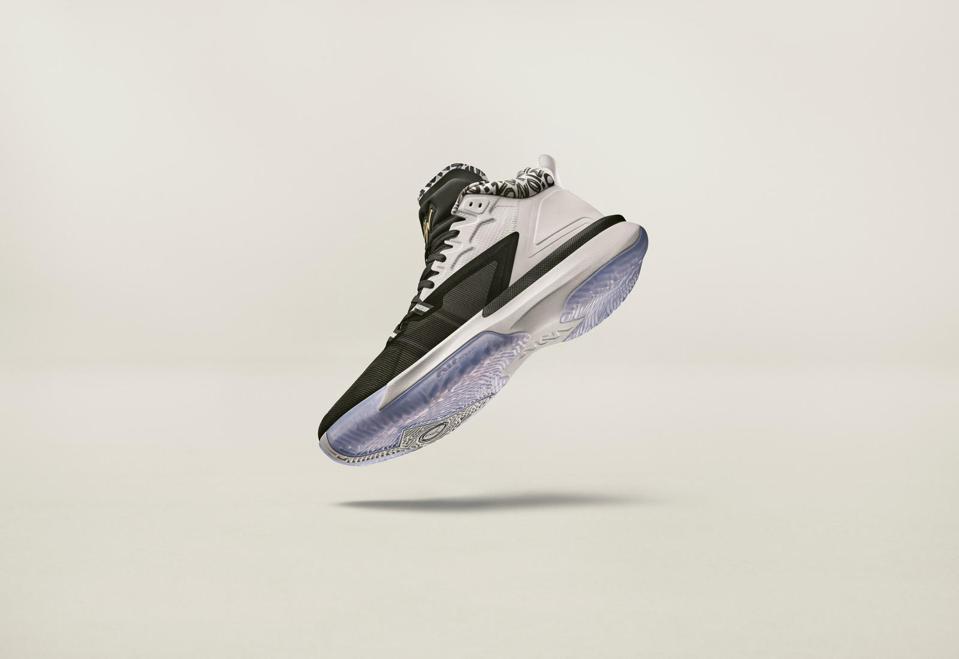 The Zion 1 Jordan Brand signature sneaker for Zion Williamson