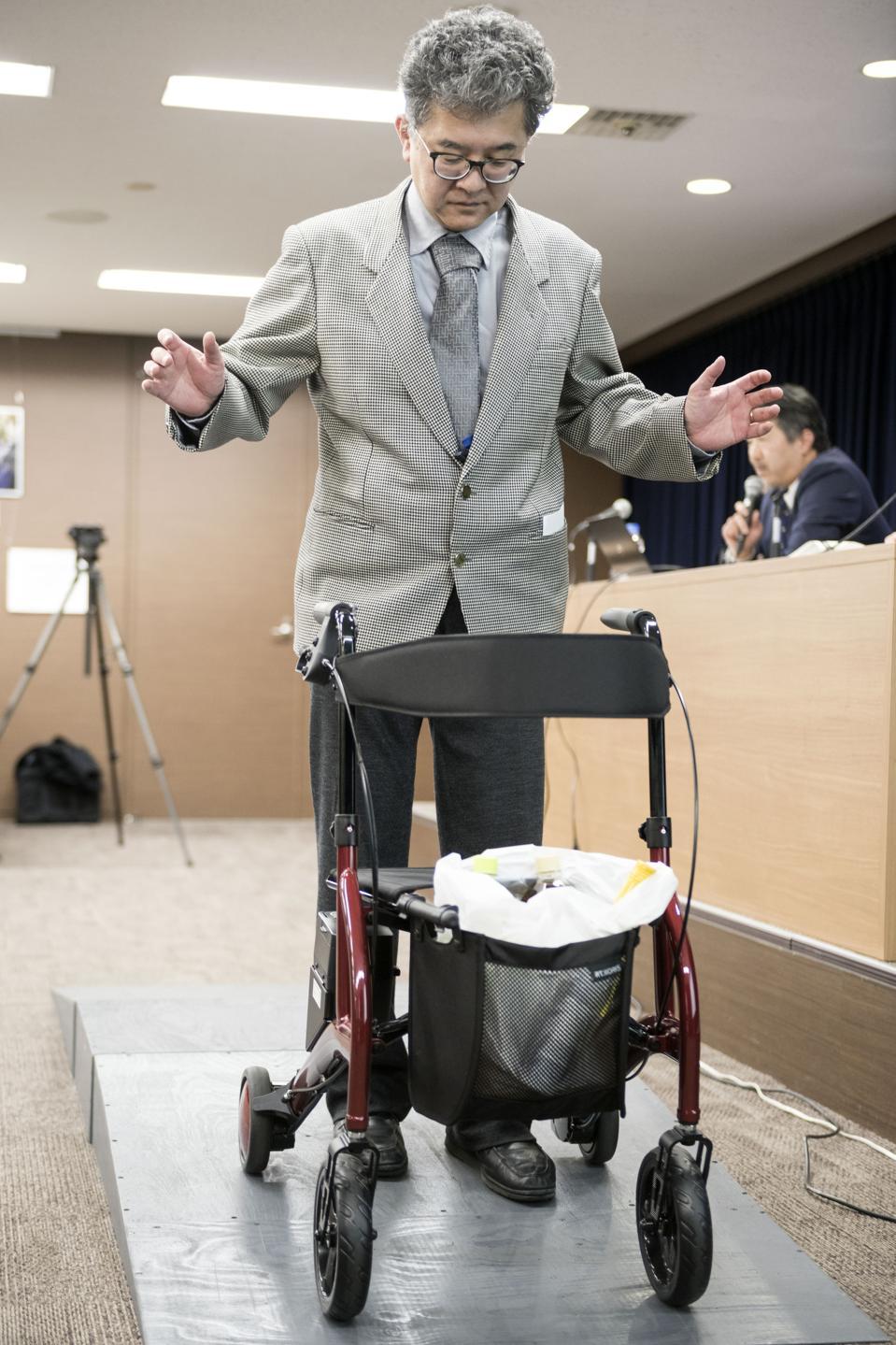 Development of Nursing-Care Robots in Japan
