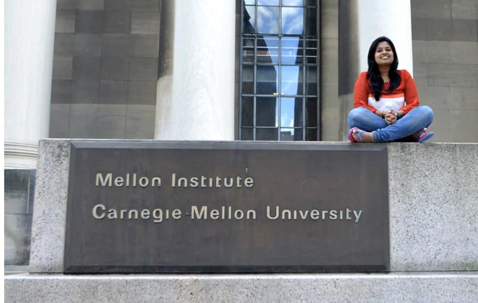 Archie Agrawal at Carnegie Mellon