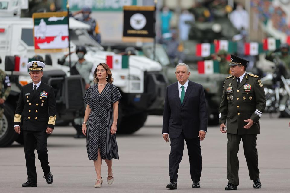 Mexico Independence Day Celebrations Amid Coronavirus Pandemic