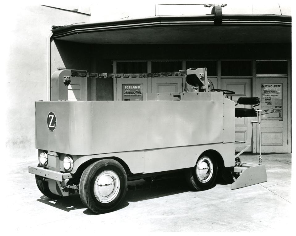 The Zamboni Model F.