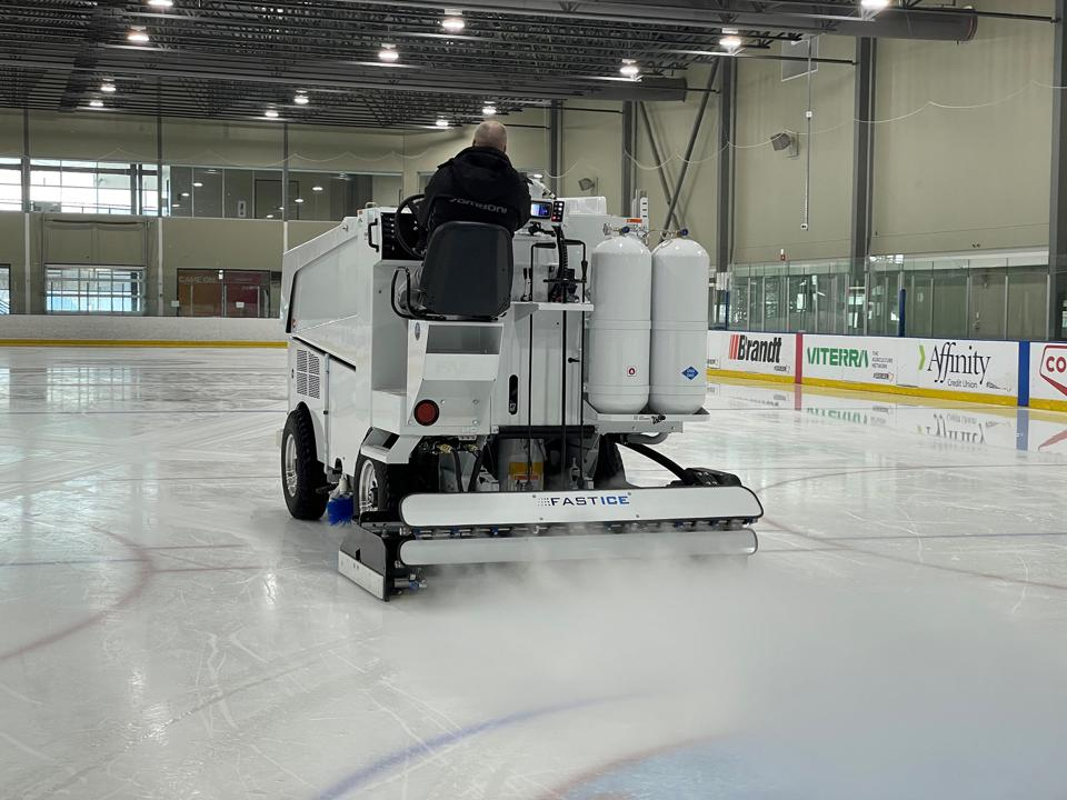 The FastICE System in action.