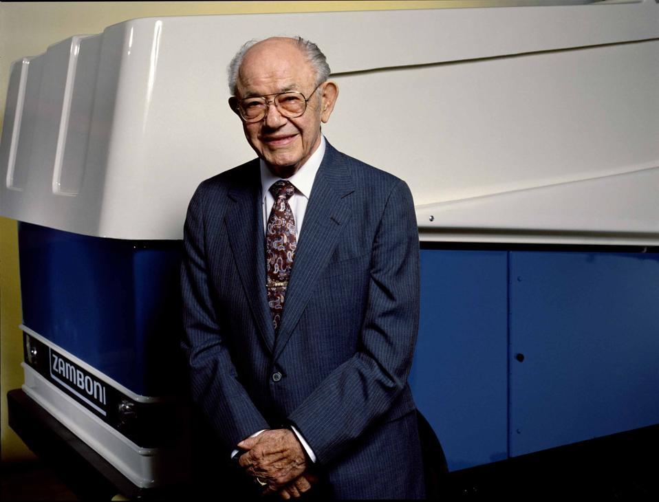 Photo of Frank J. Zamboni