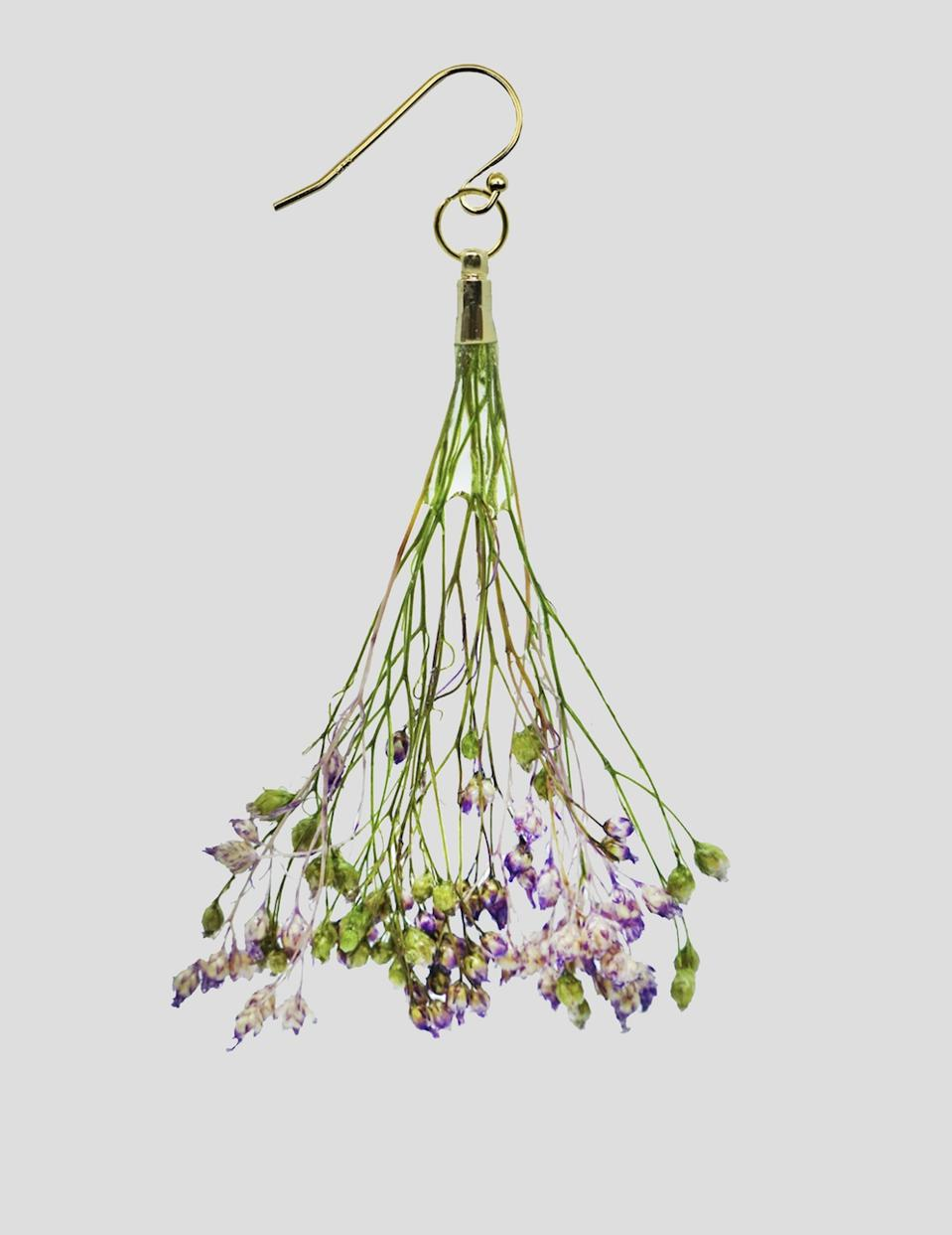 Dauphinette's Wisteria Bouquet Earrings