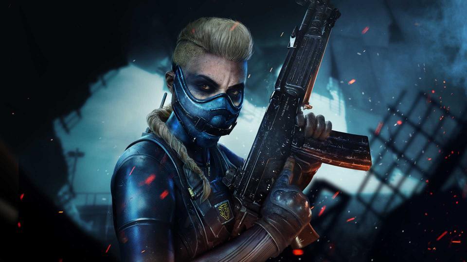 Black Ops Cold War Season 3 operator with a gun