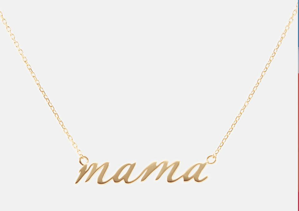 Linjer's Mama Necklace