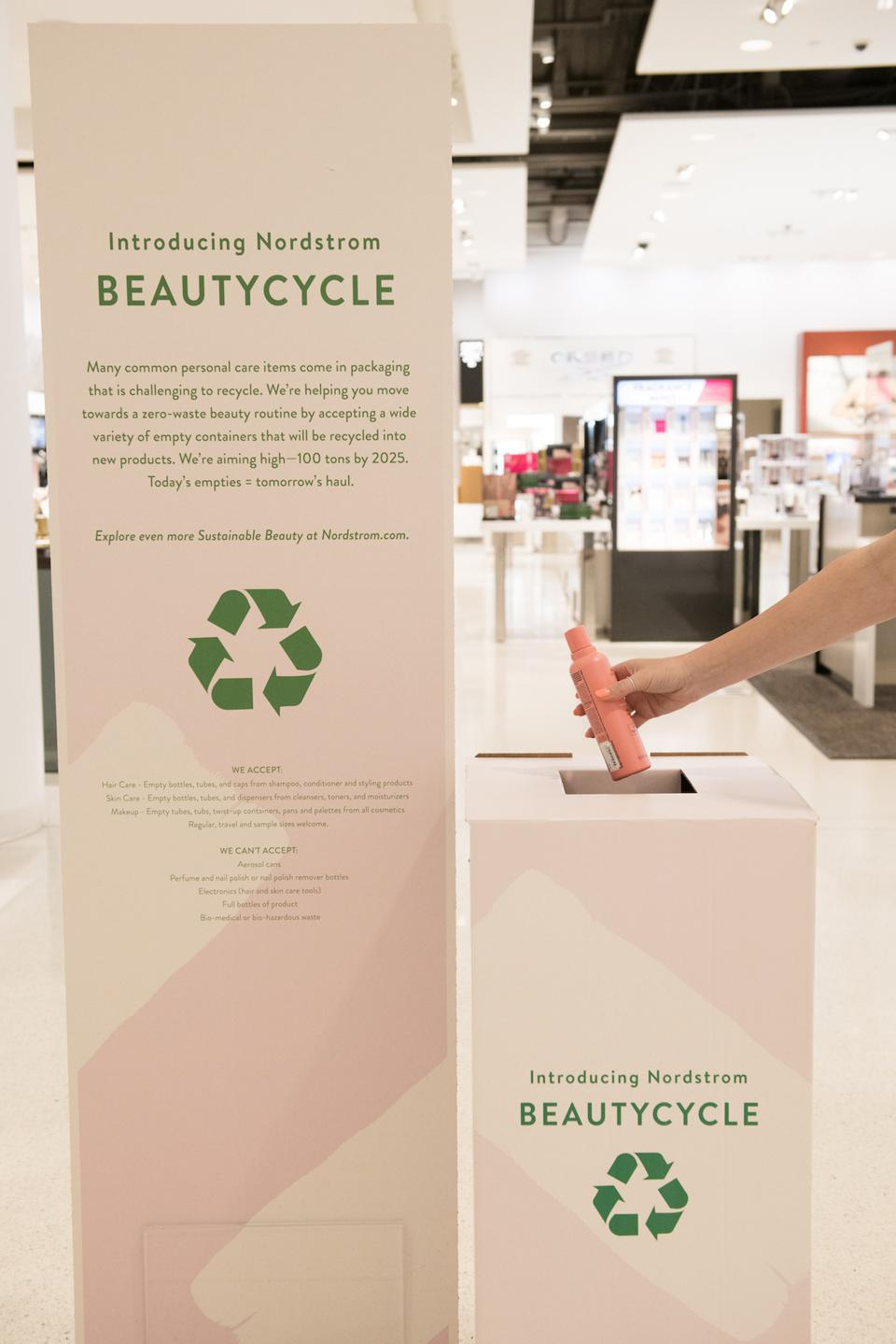Beautycycle with Nordstrom