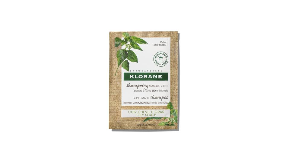 Klorane 2-in-1 Mask Shampoo Powder with Organic Nettle and Clay