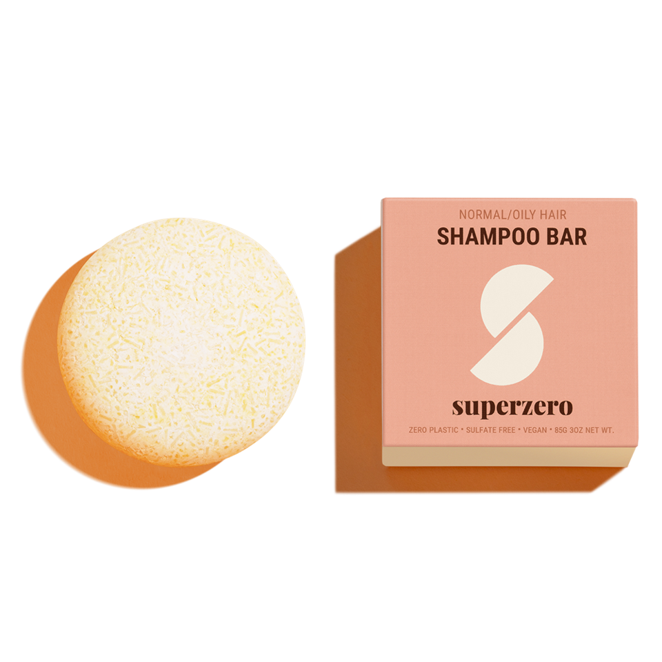 SUPERZERO Normal/Oily Shampoo Bar