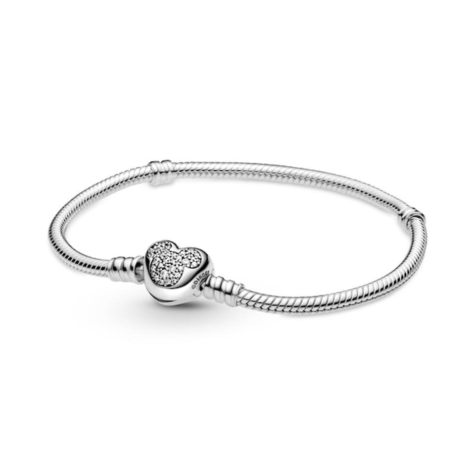 Disney Pandora Moments Mickey Mouse Snake Chain Bracelet jewelry