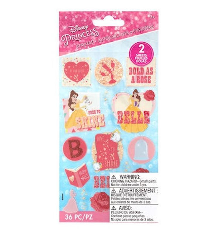 American Crafts Disney Stickers Belle from JOANN