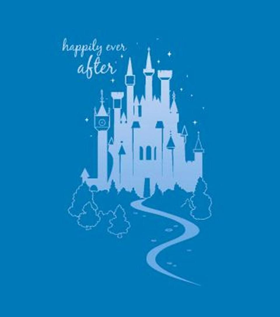 JOANN Disney Happily Ever After No-Sew Fleece Throw