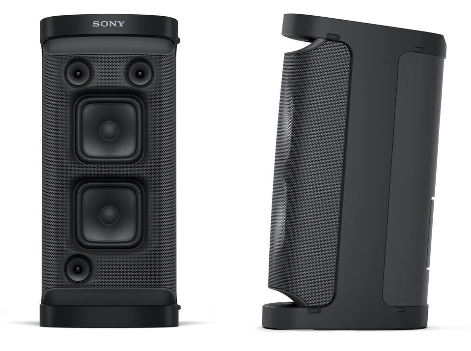 Tampak depan dan samping Sony SRS-XP700