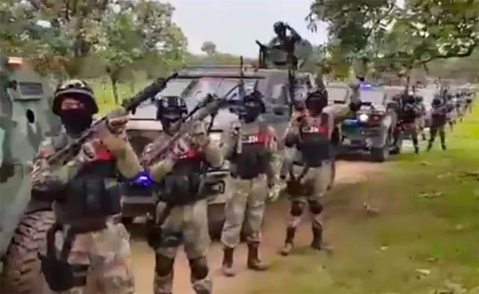 Cartel army